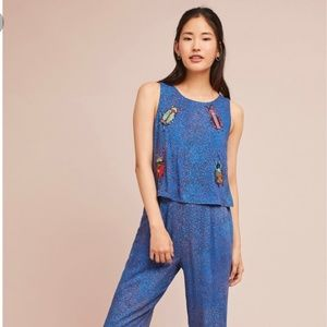Embroidered Critters Jumpsuit